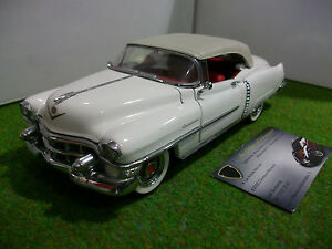 CADILLAC-ELDORADO-cabriolet-1953-FRANKLIN-MINT-1-24-voiture-miniature-collection
