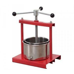 fruit press 3 5l wine press home brew apple press. Black Bedroom Furniture Sets. Home Design Ideas
