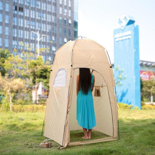 TOMSHOO Camping Duschzelt Privatsphäre Toilettenzelt Umkleidezelt Beistellzelt