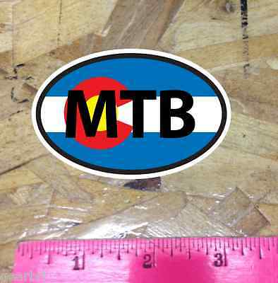 3 for 1 MTB Mountain Bike AZ Arizona Flag Mountain Bike sticker decal