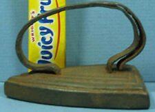 "OLD CAST IRON TOY IRON DOUBLE HANDLE BASE IS 2 7/8"" LONG T70"