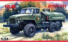 URAL ATZ 5-375 FUEL TANK (SOVIET, RUSSIAN, UKRAINIAN, EAST GERMAN MKGS) 1/72 ICM