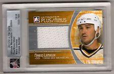 MARIO LEMIEUX 11/12 ITG Ultimate Plus/Minus Jersey #d /24 SP Pittsburgh Penguins