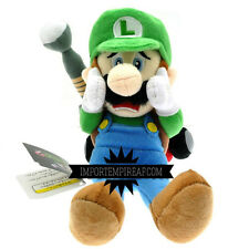 SUPER MARIO LUIGI MANSION PELUCHE wii u pupazzo new 3d world 2 nintendo plush