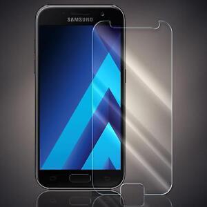 Panzerfolie für Samsung Galaxy A3 2017 Schutzfolie Schutz Echt Glas Folie 9H