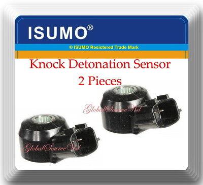2 Piece  Knock Sensor W//Electrical Connector Fits:Infiniti Q50 Q70 Nissan QUEST
