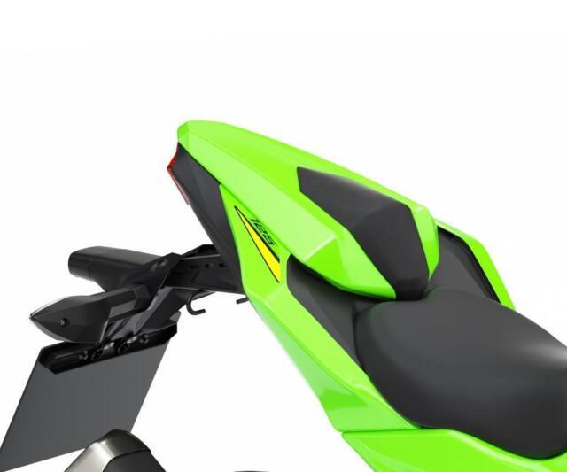Kawasaki Z125 Pillion Cover Green Model 2019 For Sale Online Ebay