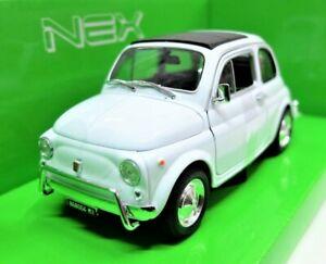 Modello-Auto-Fiat-500-L-500L-SCALA-1-24-Diecast-veicoli-eta-modellcar