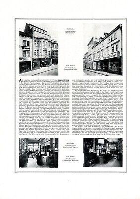 Schuhhaus Pabst Mühlhausen Xl Reklame 1921 Schuster Schuhmacher Werbung