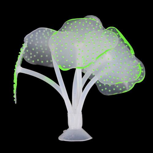 Fluorescent Coral Plant Aquarium Glow In The Dark Fish Tank Ornament DecoratiGK