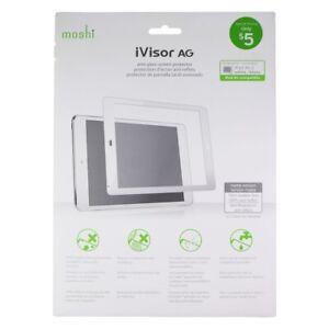 Moshi iVisor AG Anti-Glare Screen Protector for Apple iPad Air 2 - White/Clear