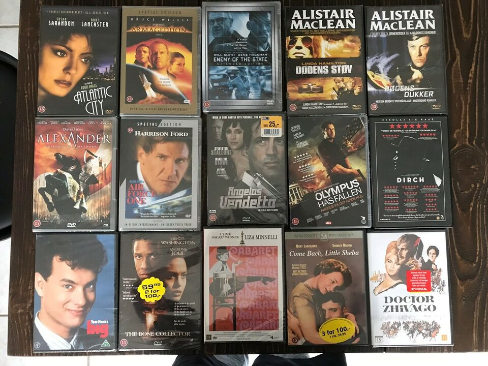 Flere, DVD, andet