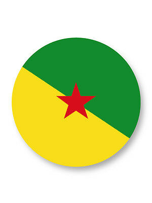 Magnet Aimant Frigo Ø38mm ♥ I Love You Guyane Guyanais Region
