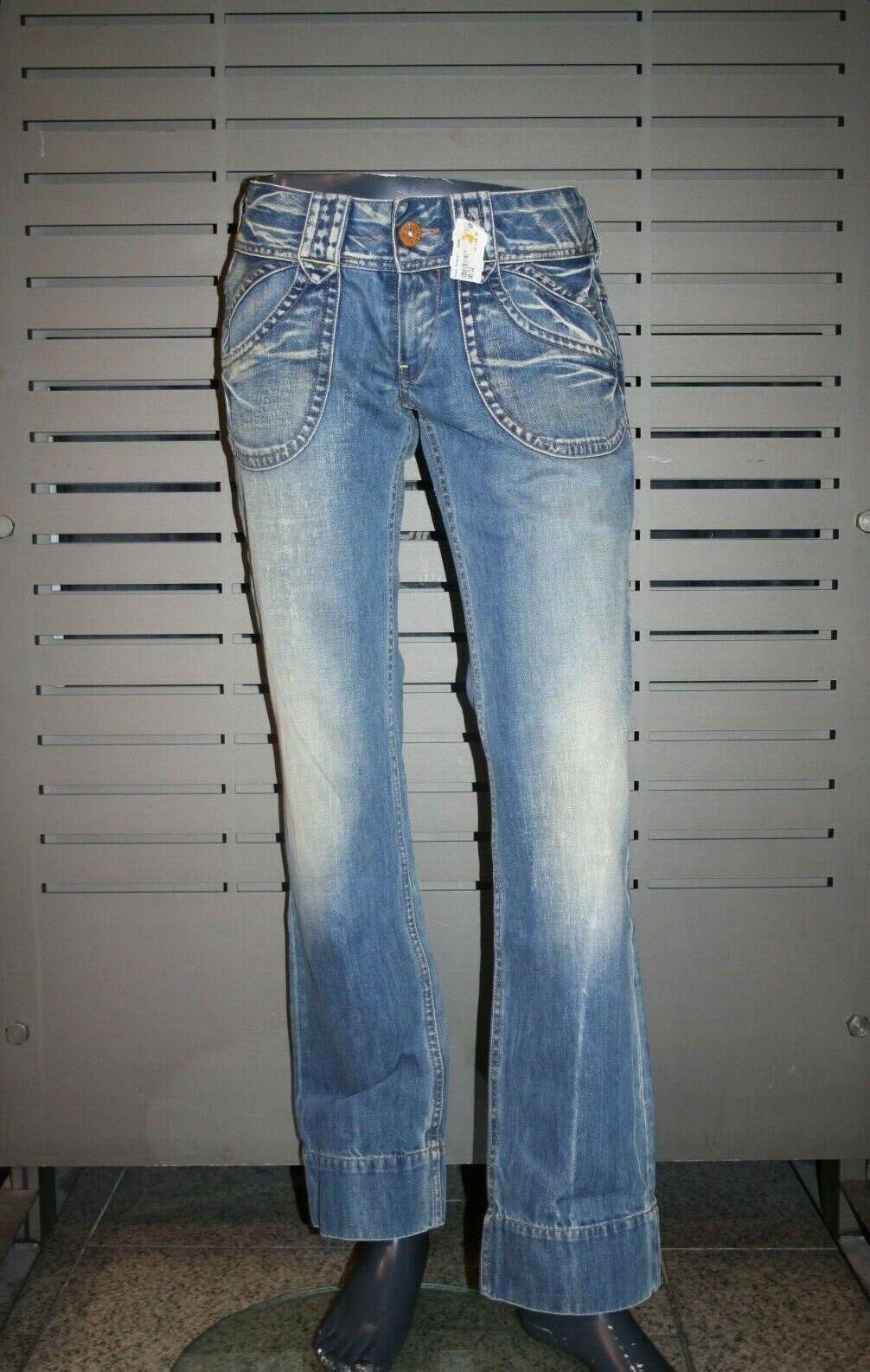 Pepe Jeans London MIdamen Damen low waist  dunkelblau ORIGINAL USED MRT01