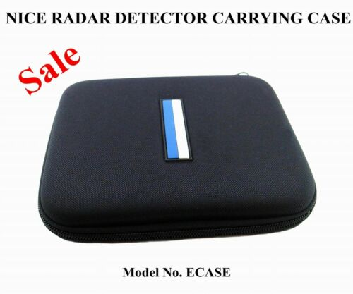 1 RADAR DETECTOR CARRYING CASE GOOD FOR THE ESCORT,BEL,UNIDEN,COBRA,WHISTLER