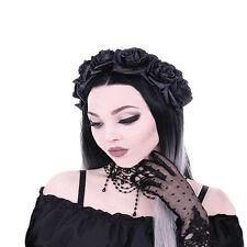 Restyle-Black Roses Gothic FASCIA, Gotico Copricapo