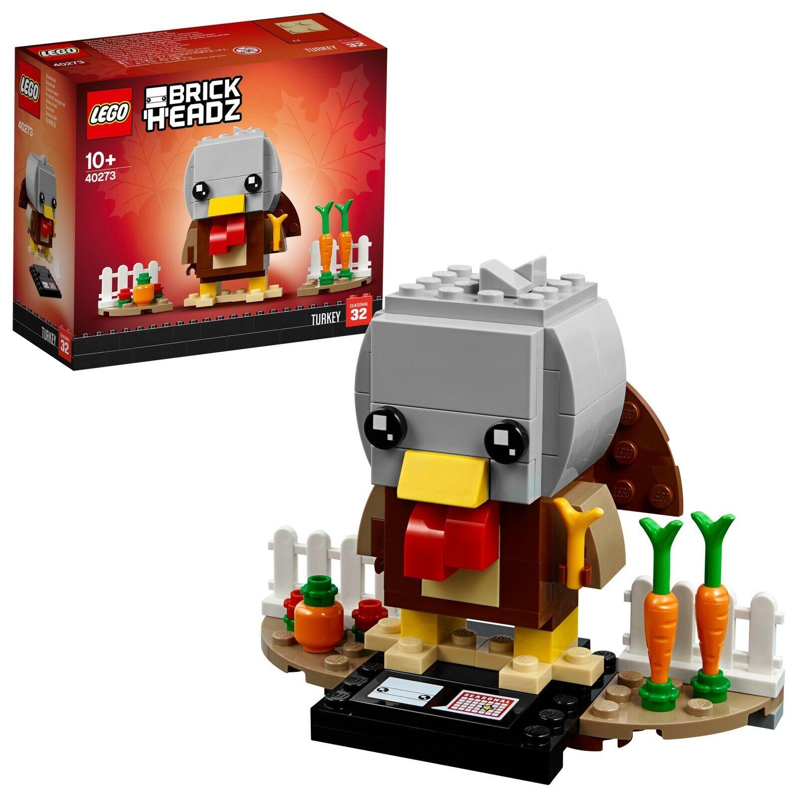 LEGO® BrickHeadz 40273 Erntedank-Truthahn NEU OVP_ Thanksgiving Turkey NEW MISB MISB MISB 829853