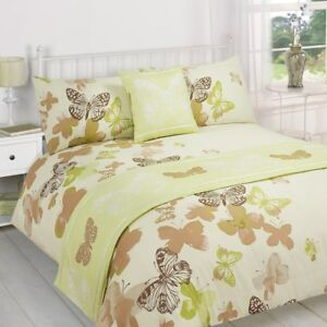 Polilla Green Quilt Bed in a Bag set Single Double King Size Super King Size