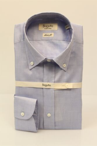 Clair Рубашка Aa140l Shirt 00160 13 Homme Pp Bagutta Bleu Chemise qxBw0wIt