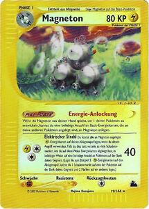 CCG-61-Pokemon-Skyridge-Reverse-Holo-Magneton-19-144-BGS-PSA-9-0