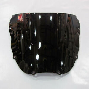 1998-1999 Honda CBR900RR 919 ABS Smoke Black Double Bubble Windscreen Windshield