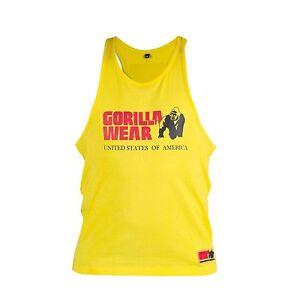 e5cab6346c118 Image is loading Gorilla-Wear-Classic-Tank-Top-Yellow