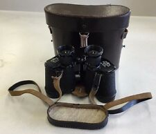 Busch Rathenow 8x30 Solluxon Binoculars with Leather Buckle Case and Strap