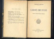 Vincenzo Mellusi,L'Amore che uccide,studio di Psicopatologia Criminale ,1911  R