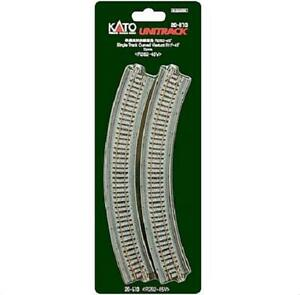 Kato-20-510-Viaduc-Voie-Courbe-Single-Track-Curve-Viaduct-R282mm-45-2pcs-N