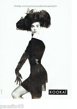 PUBLICITE ADVERTISING 056  1987  Kokai pret à porter mode 2