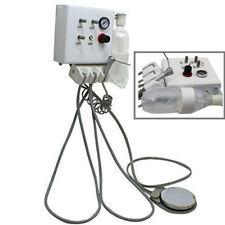 Wall Mouted Portable Dental Turbine Unit Withair Compressor Triplex Syringe 4 Hole