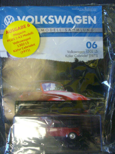 VW Ausgaben 3-19 die offizielle Modellsammlung 1:43 versch