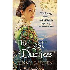 The Lost Duchess,Barden, Jenny,New Book mon0000068431