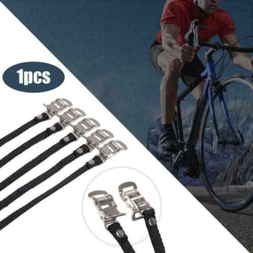2Pcs//bag Bicycle Pedal Bands Feet Foot Toe Clip Road Bike Binding Straps SG
