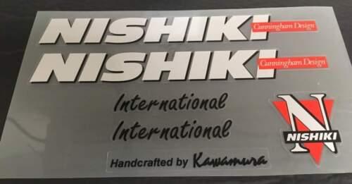 sku Nish-S114 Nishiki International Cunningham Design Bicycle Decal Set