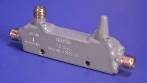 Narda (-20) dB Model 4012C-20 Coaxial Coupler from 1GHz to 2GHz