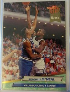 Details About Ultra Fleer 92 93 Shaquille Oneal Shaq Rookie Card 328 Rookie Rc Magic
