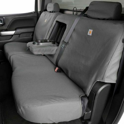 Covercraft SSC8434CAGY Carhartt SeatSaver 2nd Row Custom Seat Covers Gravel