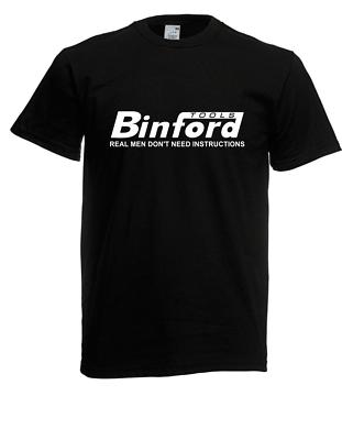 Mutig Herren T-shirt Binford Tools Größe Bis 5xl
