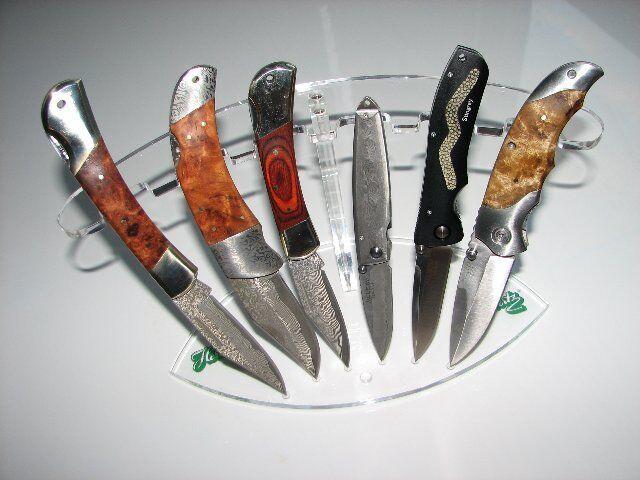 Herbertz Messerständer Messerhalter 6 Messer Ständer Taschenmesser Neu 3077