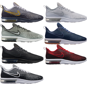 3a307310e18242 Nike Air Max Sequent 4 Men s Running Shoes Lifestyle Comfy New ...