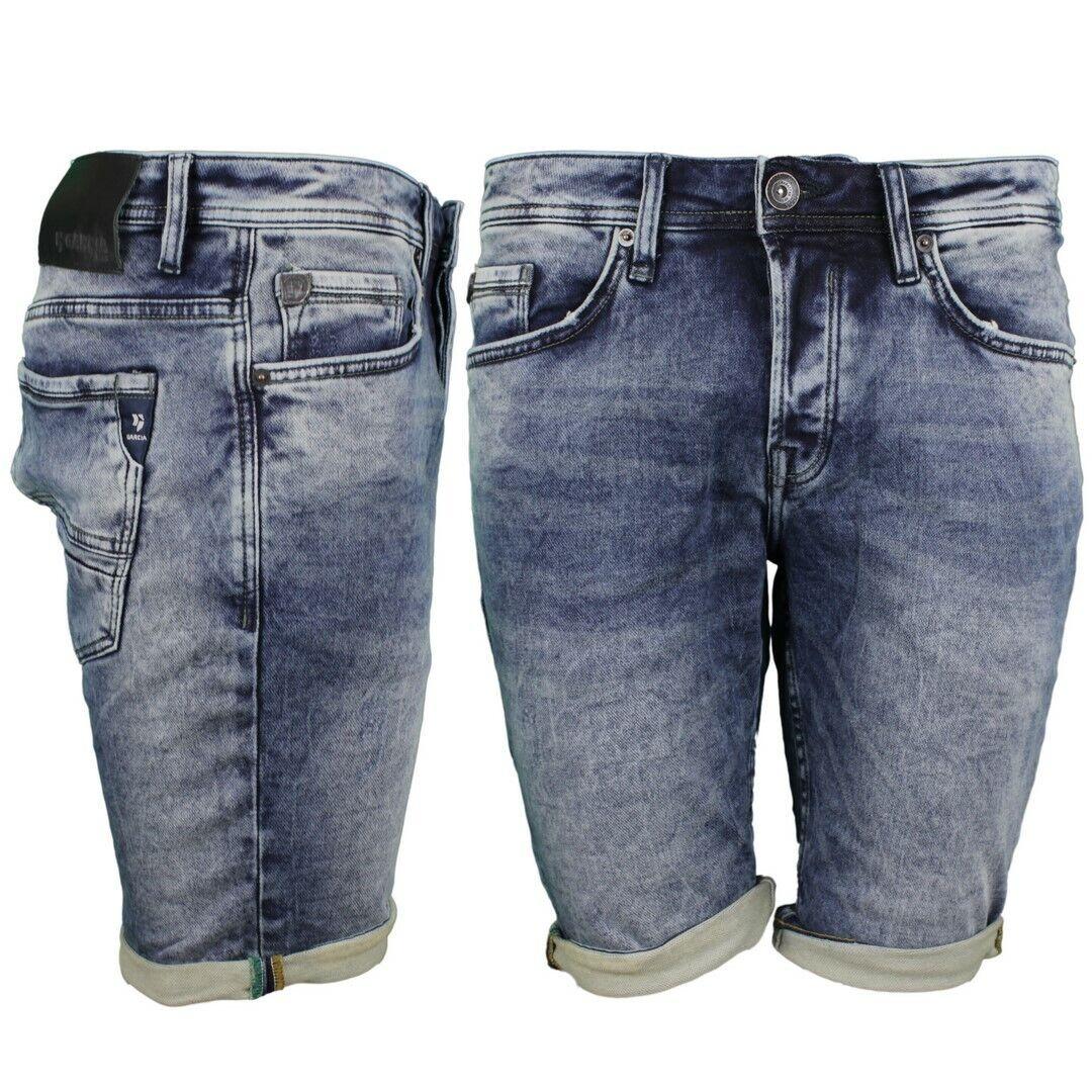 Garcia Men's Jeans Shorts Jog Denim Savio bluee 635 8675 Ease Denim Dark Used