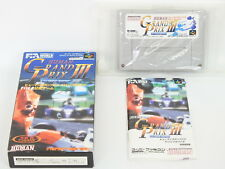 Human Grand Prix III: F1 Triple Battle (Super Nintendo Entertainment System, 1994) - Japanese Version