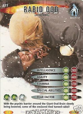 DR WHO DEVASTATOR CARD 941 OOD SALES REP