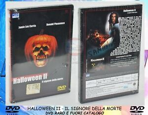 1-DVD-FILM-HORROR-CULT-MOVIE-80-HALLOWEEN-2-IL-SIGNORE-DELLA-MORTE-MICHAEL-MYERS