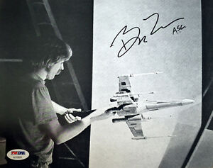 BRUCE-LOGAN-SIGNED-AUTOGRAPHED-8x10-PHOTO-SPECIAL-EFFECTS-STAR-WARS-RARE-PSA-DNA