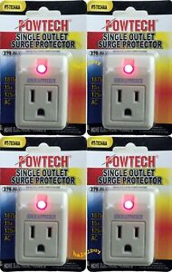 4-new-pack-single-outlet-surge-protector-270-joules-with-power-suppressor