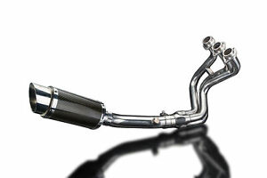 Yamaha-FZ-09-MT-09-XSR900-Delkevic-3-1-Exhaust-8-034-Carbon-Round-Muffler-14-19