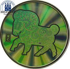 Canadá 150 dollars 2003 pp hologram moneda de oro lunar serie: año del oveja
