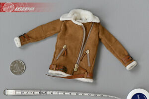 """1//6 Scale Female Girl Cashmere Jacket Model Toy For 12/"""" Action Figure Body New"""